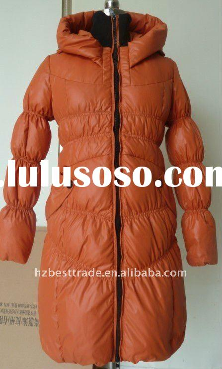 lady's winter down coats