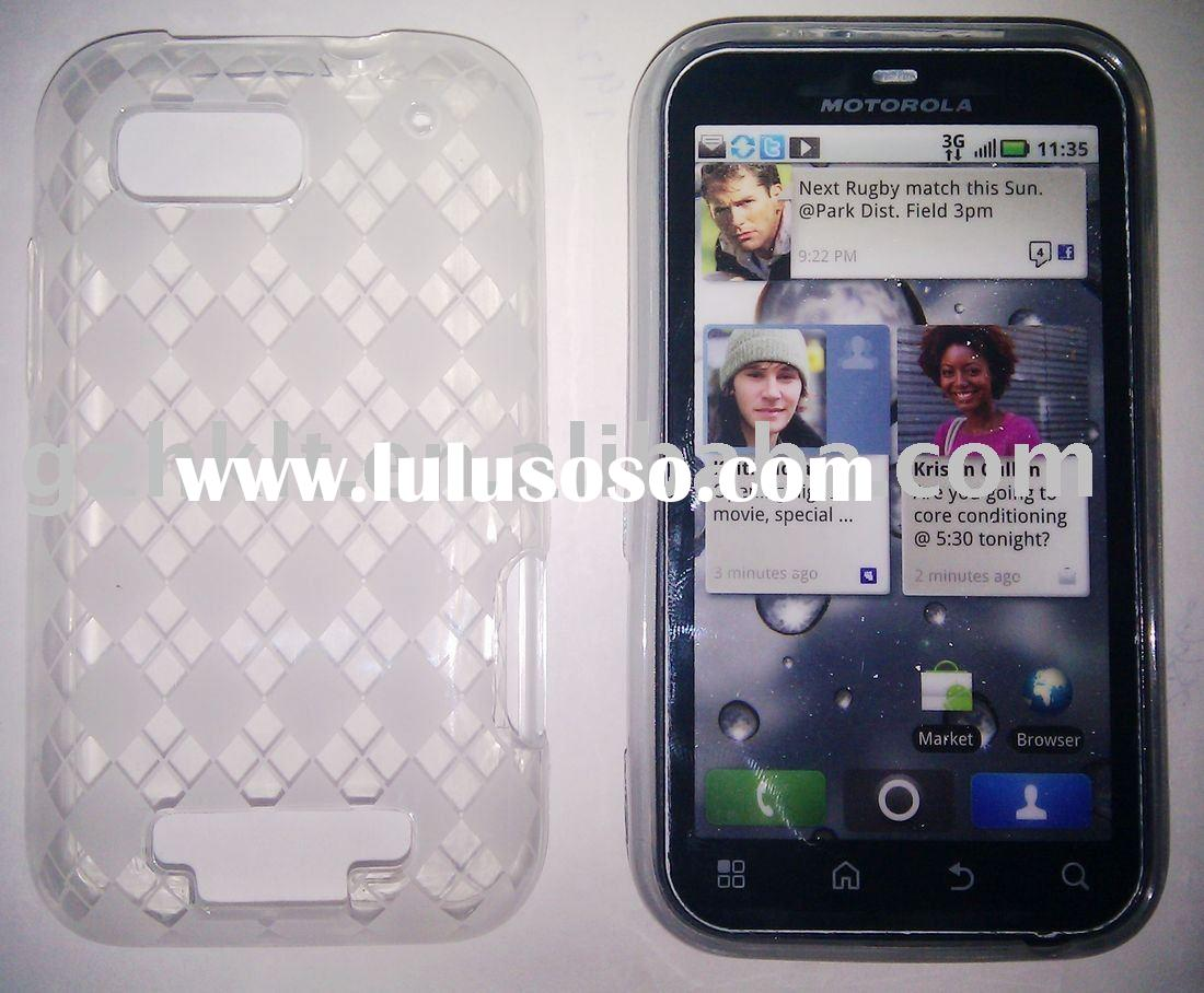 mobile phone case TPU case/Soft case for Defy MB525