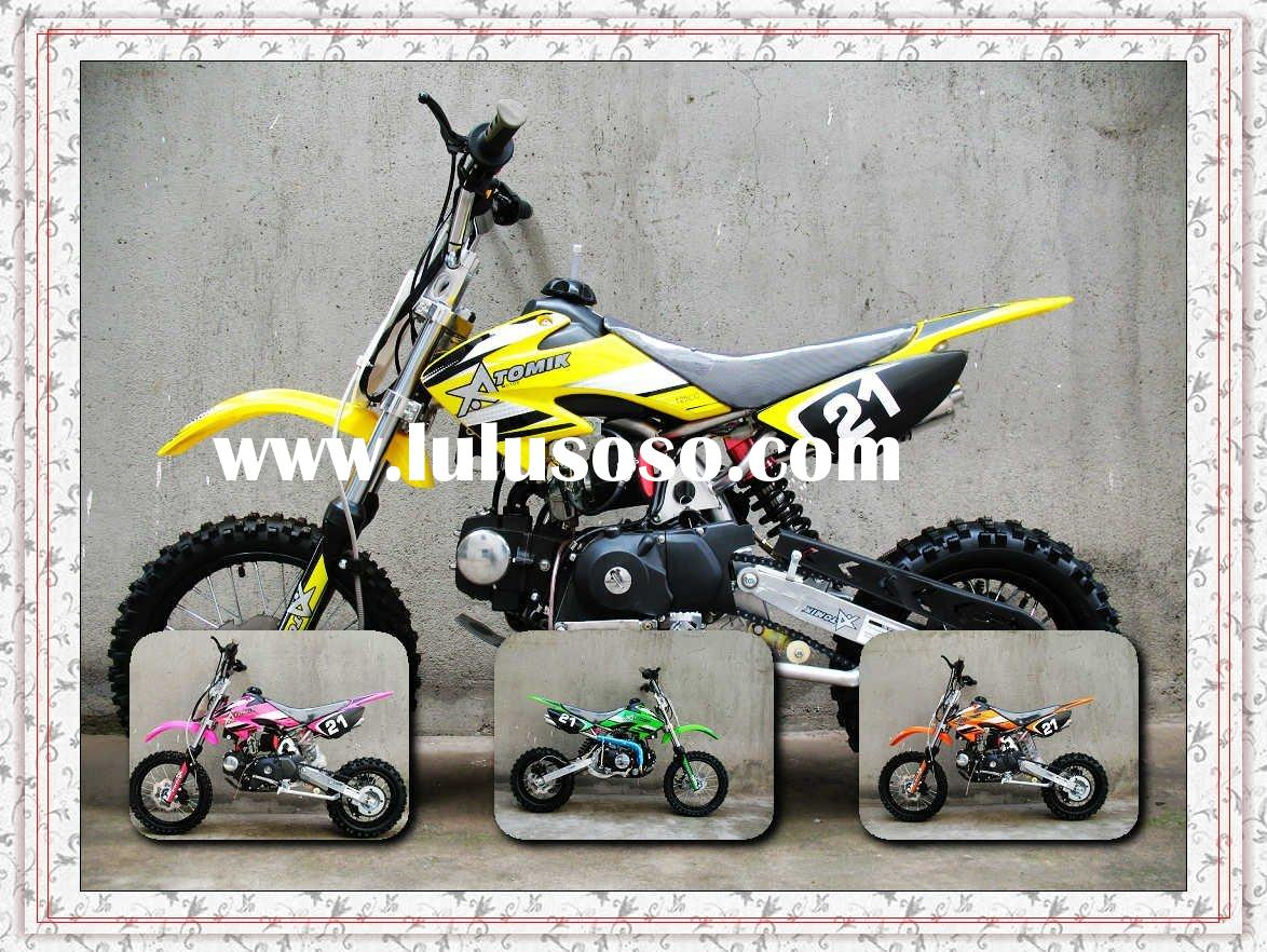 off road motorcycle children dirt bike/pit bike good quality popular ATOMIC sticker