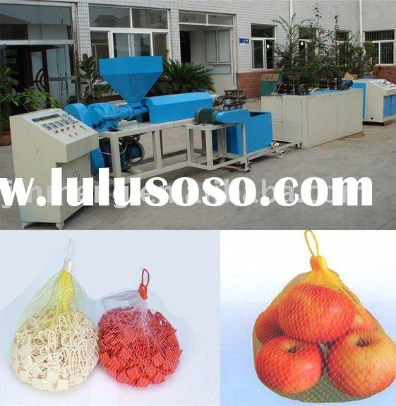 plastic mesh net bag machine