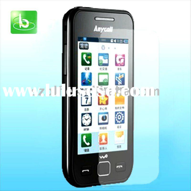 screen protector for mobile phone/ Samsung 5750E factory price