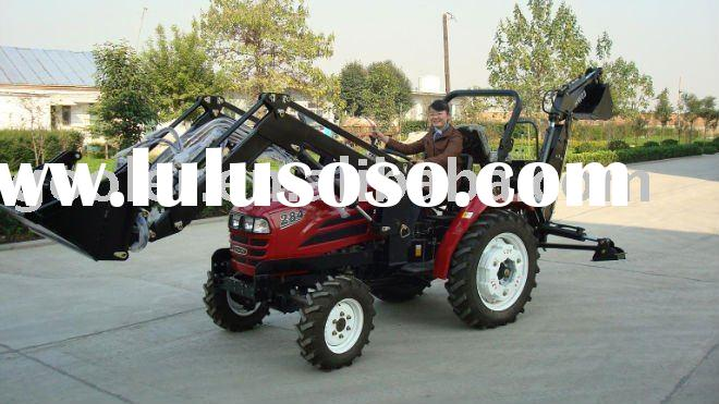small/mini garden Tractor fit with front end loader and Backhoe,LZ254/LZ284/LZ304