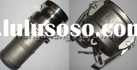 stainless steel quick connect coupling / camlock fitting / cam & groove