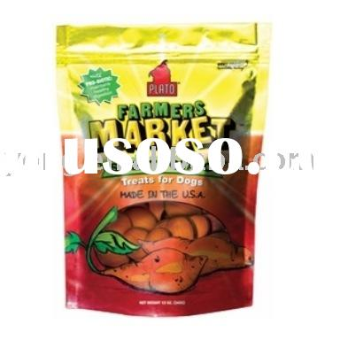 stand up pouches with zip lock,pet food bag, dog food bags, plastic bag