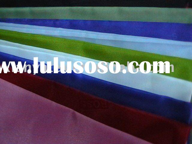 synthetically thread textile fabric solid color polyester taffeta