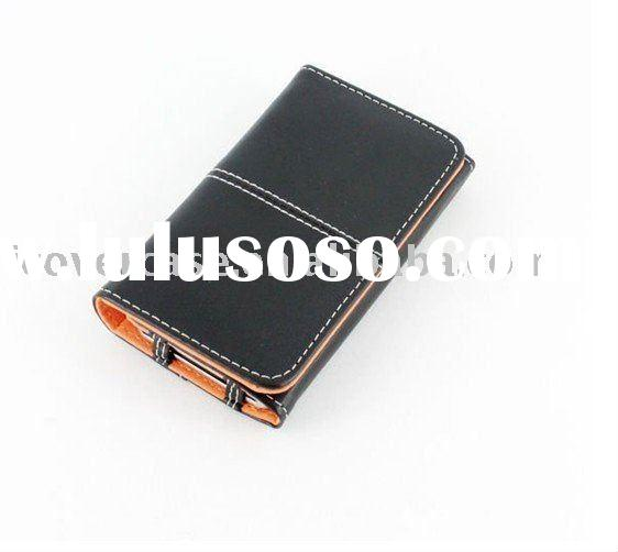 wallet leather cases for iphone 4,card wallet case for iphone 4 4g,flip wallet case for iphone