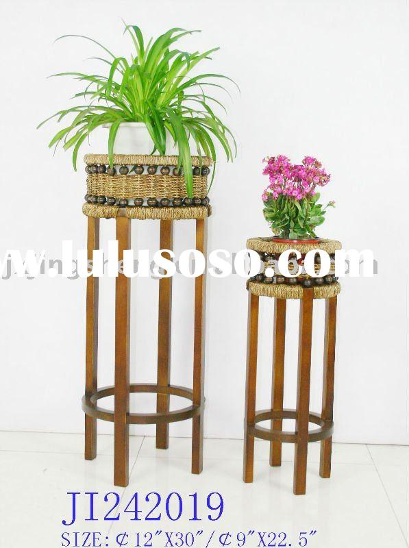 Wooden Flower Stand Pot Stands Garden Flower Stands