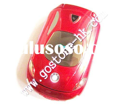 x6 dual band dual sims car shape mobile phone