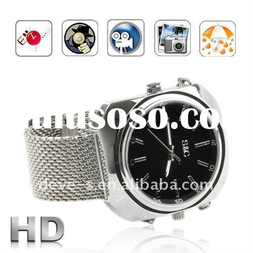 1080P IR Night vision Waterproof watch camera voice active