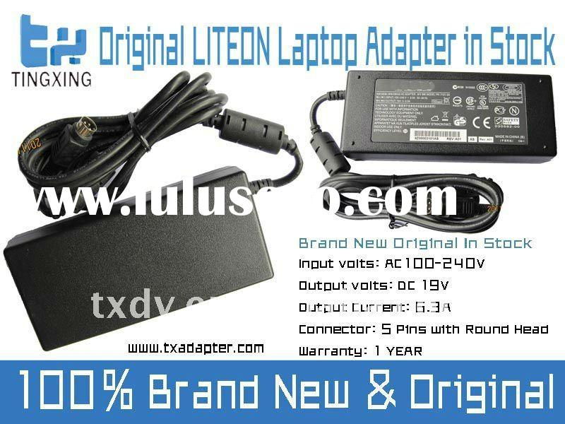 19V 6.3A 120w Original Liteon Laptop Power Adapter with DC 5 Pins Round Head, PA-1121-04