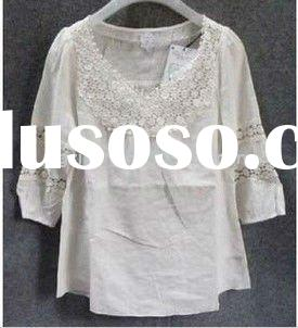 2011 Hot Ladies Cheap Summer Casual LooseTops and Blouses Patterns (ZP-1216)