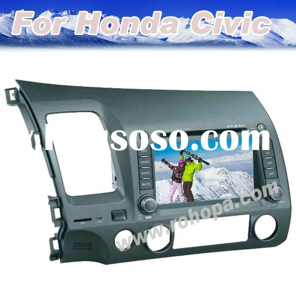 2011 Hot-selling 7 Inch 2 Din In Dash Car DVD Special for Honda Civic With 8 OSD languages