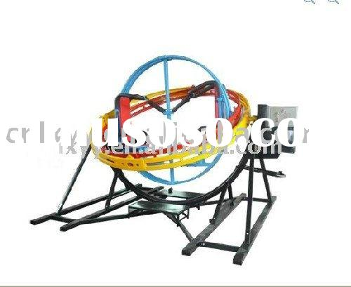2011 Hot selling Three Dimensional Gyro Ball with 2 riders