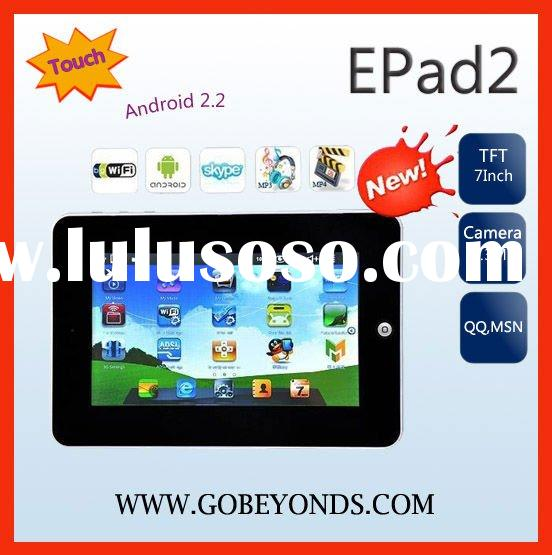 "2011 New epad 7"" Android 2.2 Tablet PC + Free Sleeve"