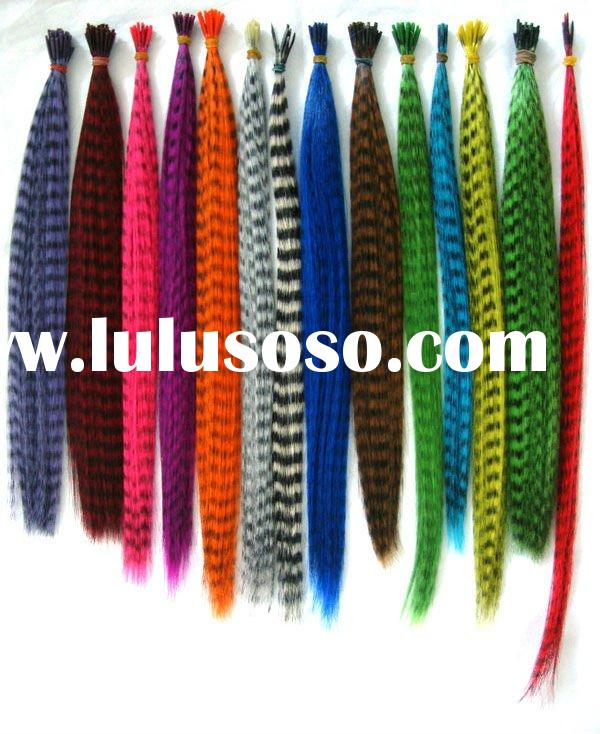 2011 hot selling feather hair extension