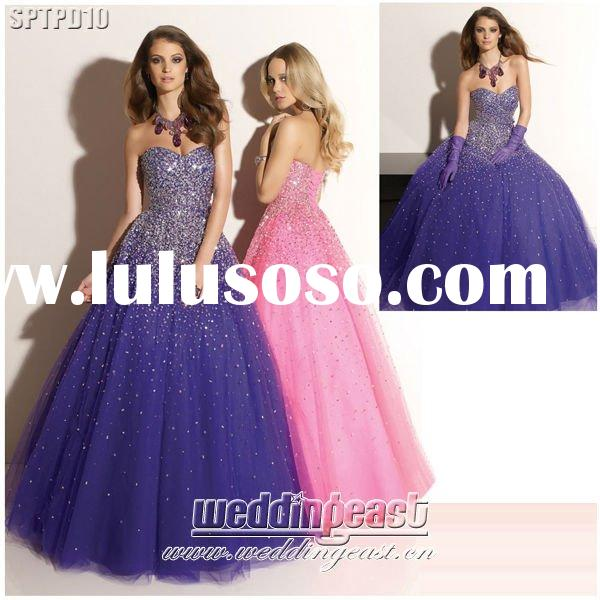 2012 Big Size Hotsale Prom Dress SPTPD10