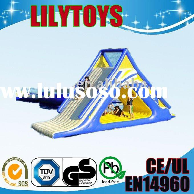 2012 NEW inflatable water games/floating climbing mount