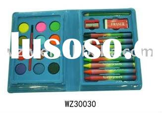 24pcs Plastic Stationery Set Kids School