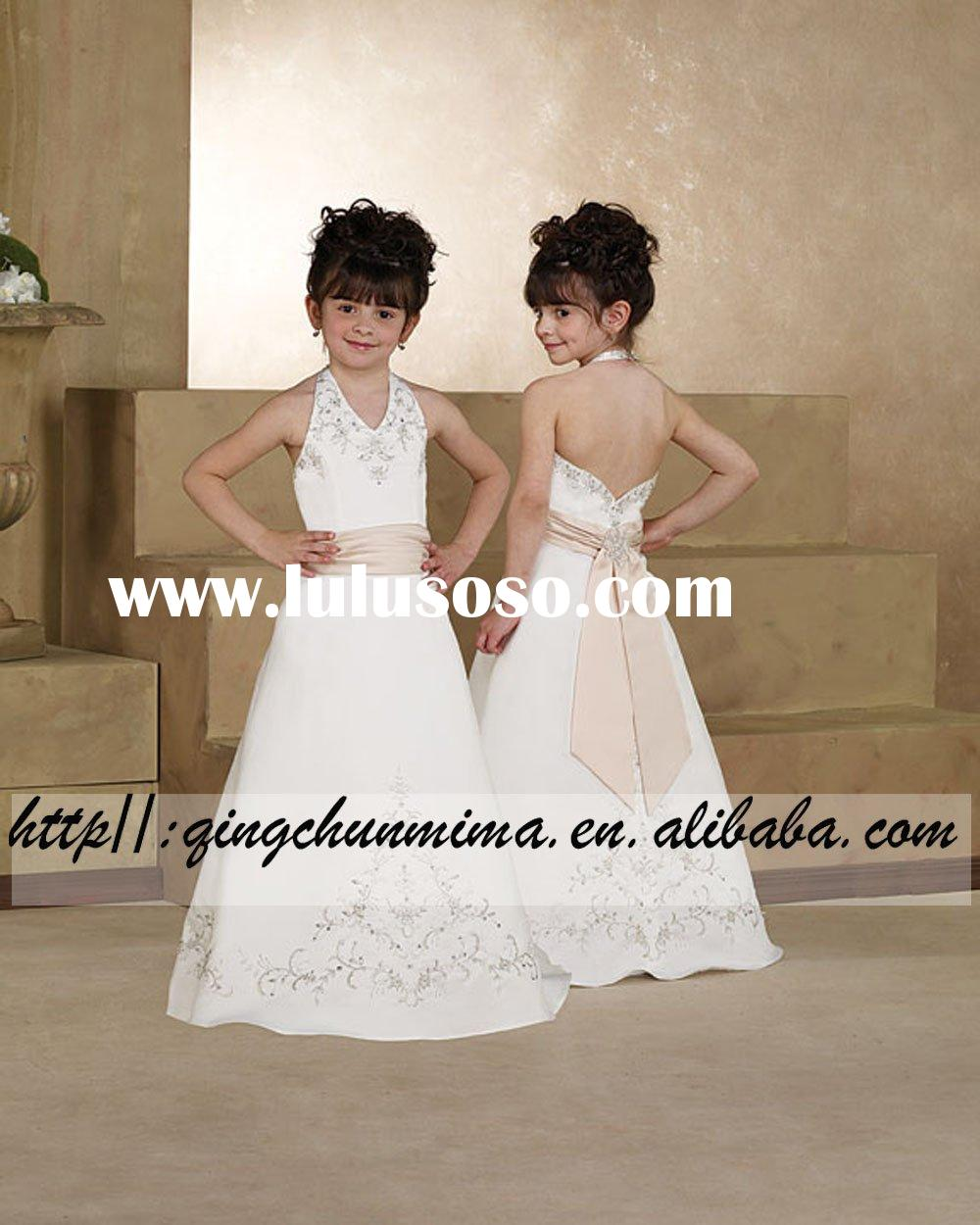 28108-1 Formal flower girl dress