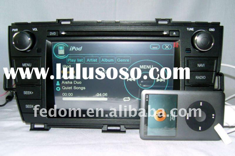"""2 din GPS & in car DVD special for Toyota Prius with 7"""" HD digital TFT touch screen"""