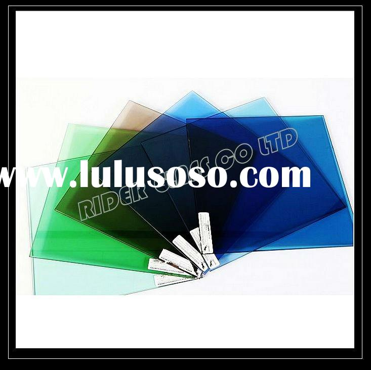 4-12mm Tinted Glass (Green, Bronze, Blue, Grey, Golden, Pink) with CE & ISO9001