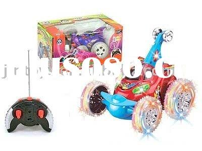 4 channel R/C tip lorry,remote control tumbling car AH5585