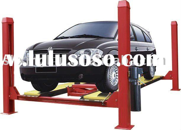 4 post car lift used for alighment