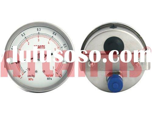 All Stainless Steel Pressure Gauge (SUS)
