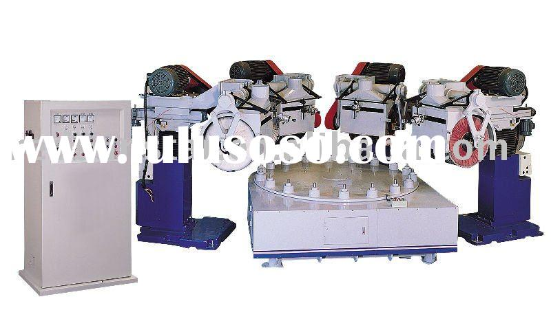 Automatic continuous rotary polishing machine