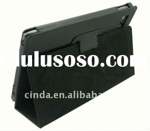 Black Stand Leather Case Cover for Acer Iconia Tab A500
