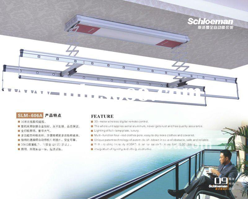 Ceiling Type Electric Garment Drying Rack Hanger For Sale