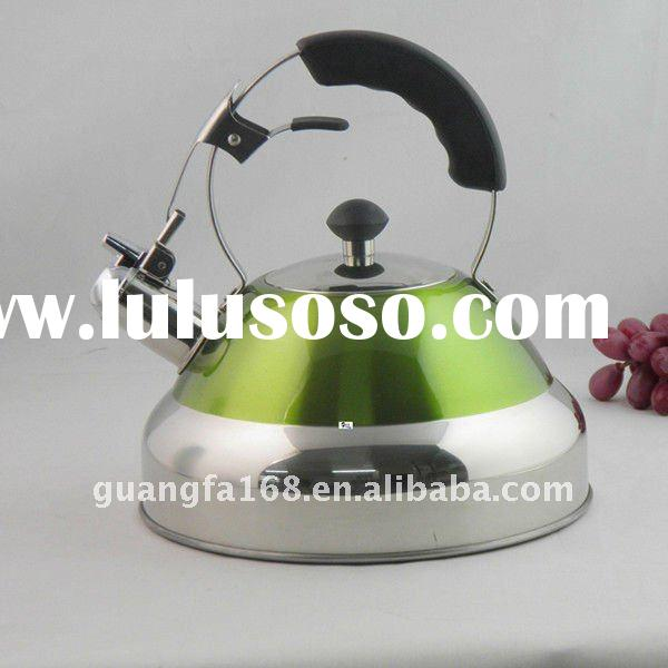Colorful High Quality Whistle Stainless Steel Kettle