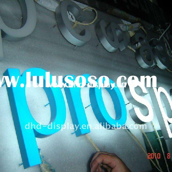 DIY led backlit channel letter sign with high quality
