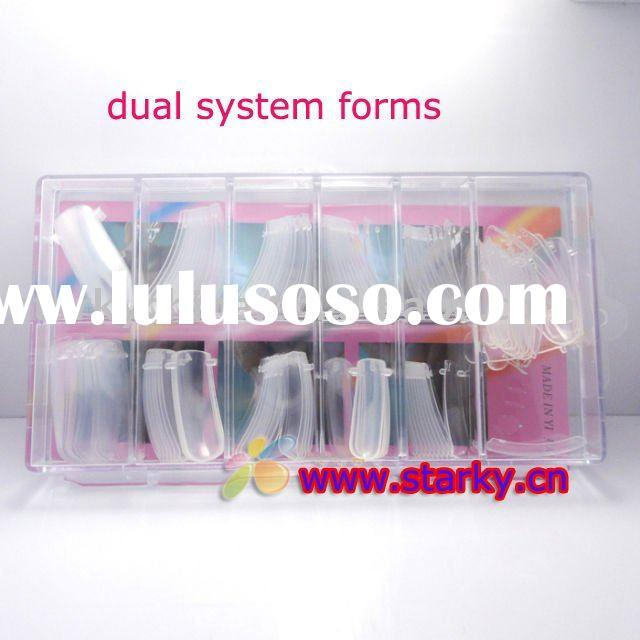 Dual Form Nail System