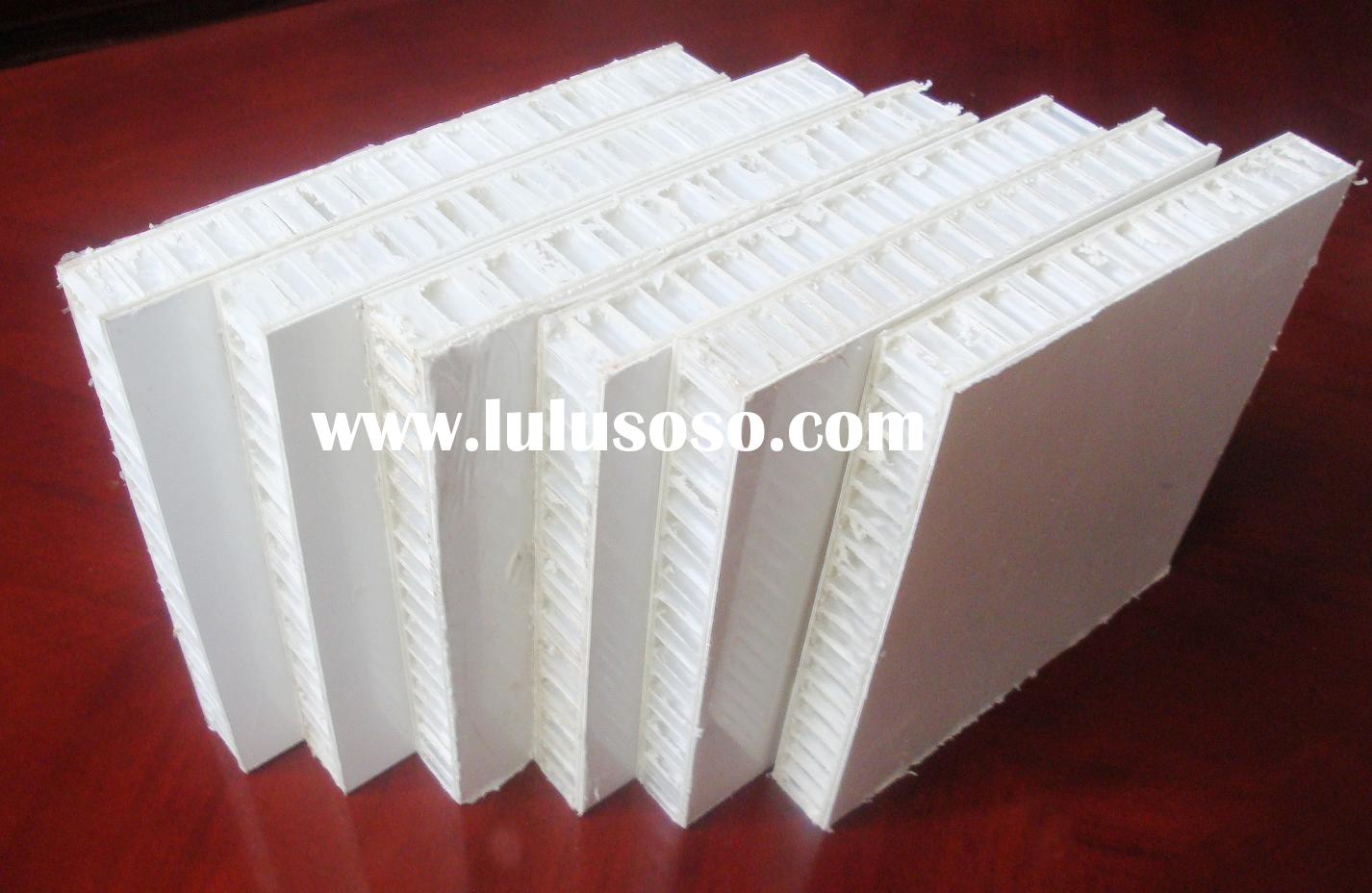 FRP honeycomb panel with gel coating