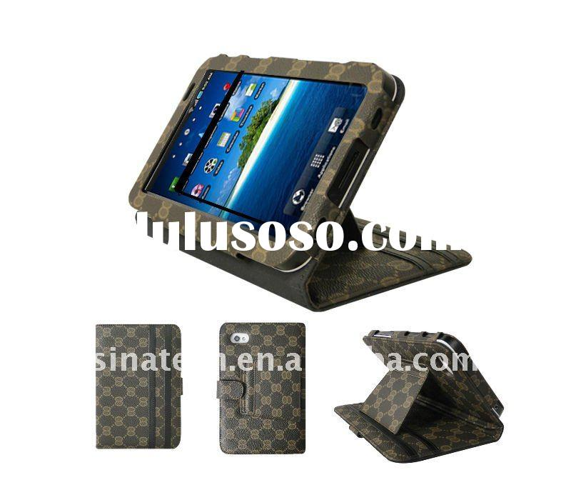 For samsung galaxy tab leather case