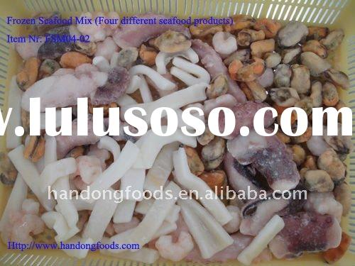 Frozen Seafood Mix (Four items)