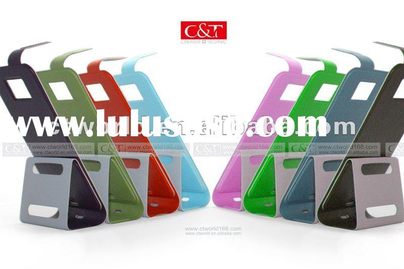 High Quality Black Flip Leather Protector Case for Samsung Galaxy S 2 II i9100