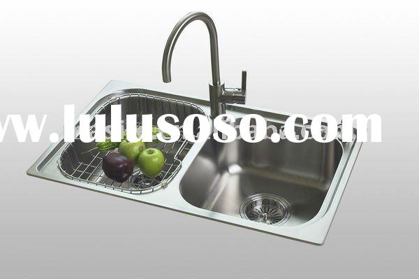 Humphry Corner Kitchen Sink Topmount Stainless Steel