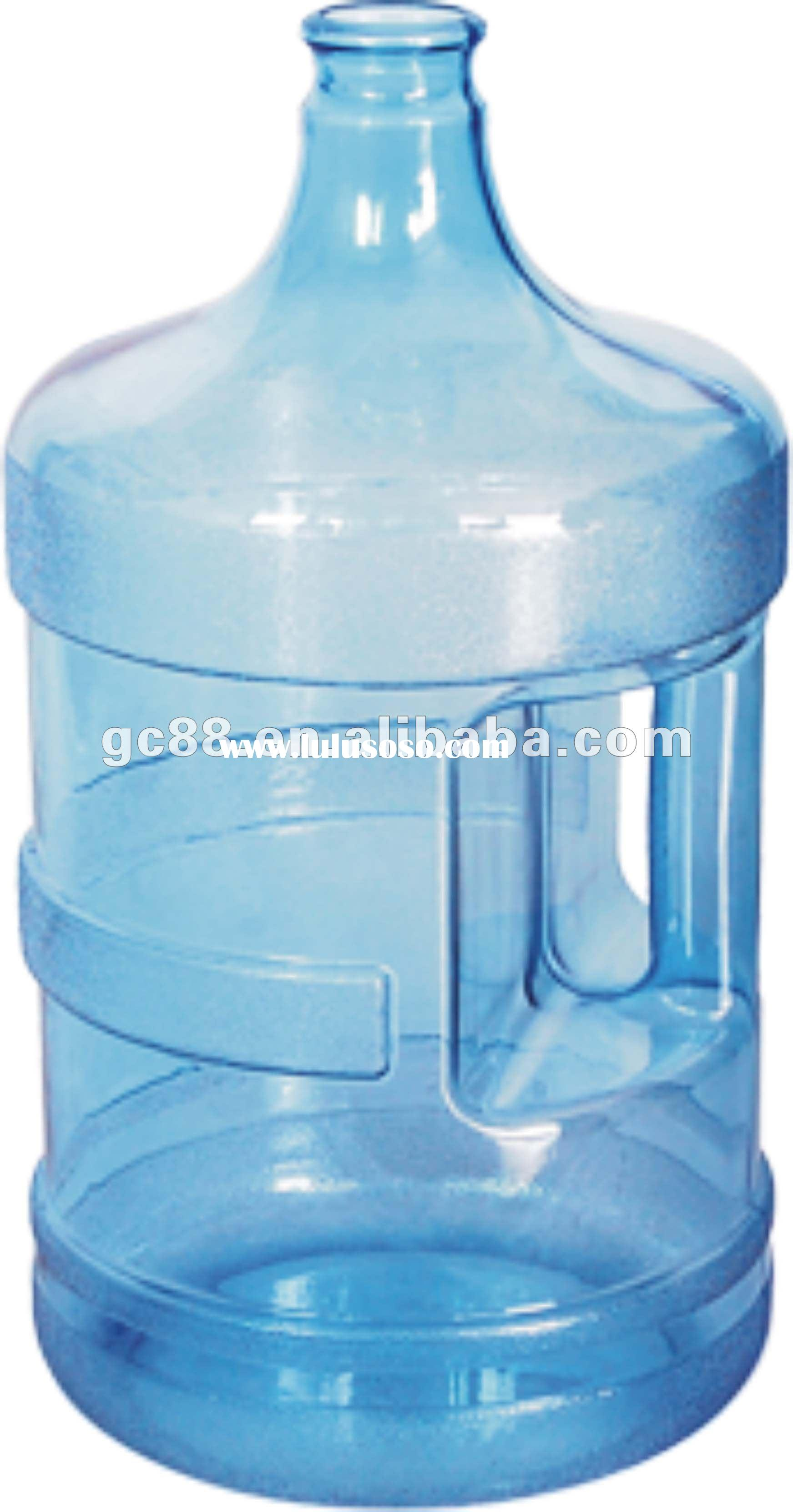 Impact resistance 5 gallon water bottle with handle
