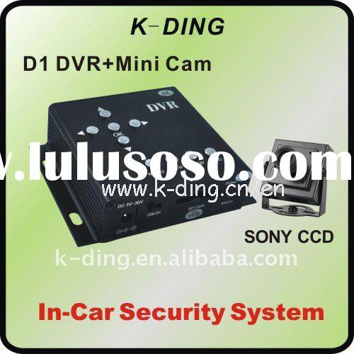 In-Car Camera System, Taxi Video Surveillance Solutions, 1ch Taxi DVR System HU555