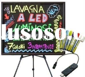 LED Fluorescent Writing Board Restaurant Menu Board