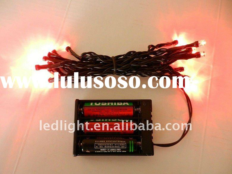 LED battery string light, battery powered led string light, battery operated string lights,