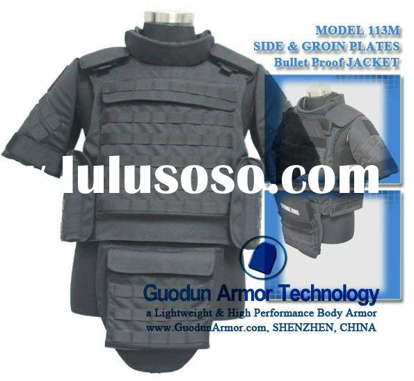 Military tactical vest; body armor for police