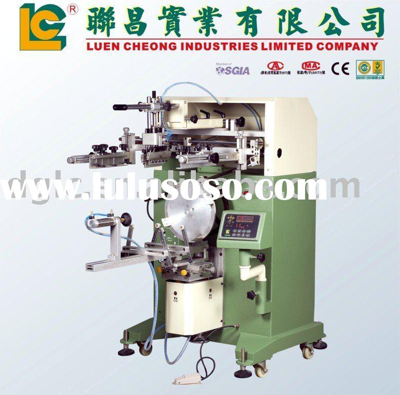 Mineral Water Bottle & Bucket Screen Printing Machine