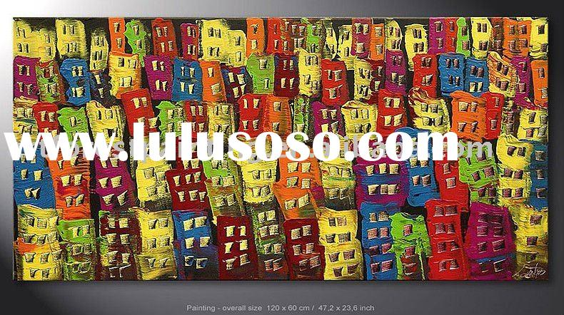 Modern abstract painting canvas(modern oil painring)