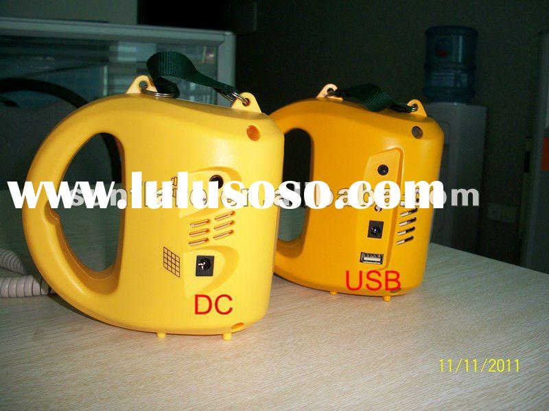 New design portable camping lantern with USB