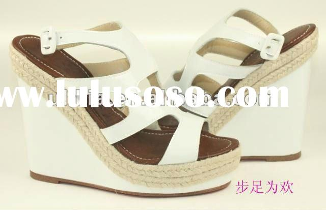 New fashion lady high heel wedges sandal