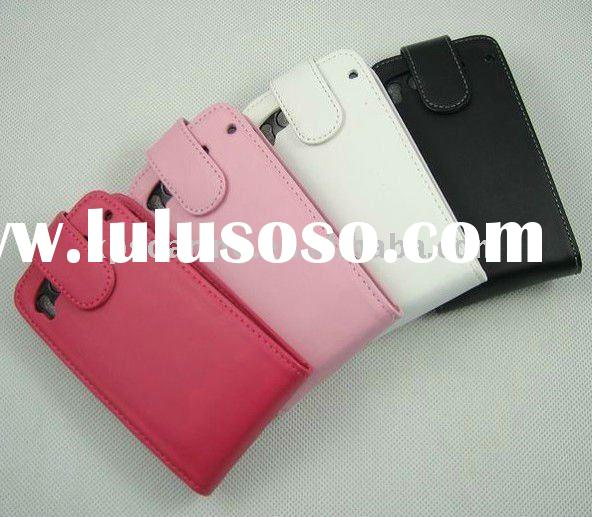 PU leather flip case pouch for HTC Desire S G12 S510E