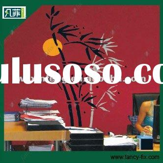PVC fashionable self-adhesive wall sticker in big size